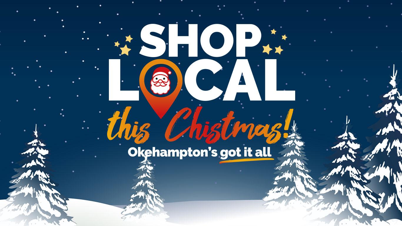 Shop local this Christmas! Okehampton's got it all